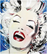 Marilyn Monroe Painting. By Tarantola